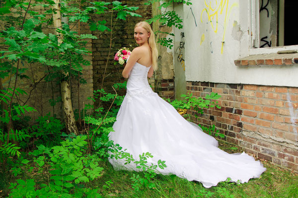 After Wedding Shooting mit Lisa Klingenberg| Teil 2| Hendrikje Richert Fotografie| Neubrandenburg| Lost Place| Natur| Hochzeit| Blumen