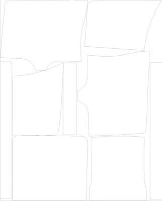 Digitalisierung der Papierschnitteile für den Digitaldruck