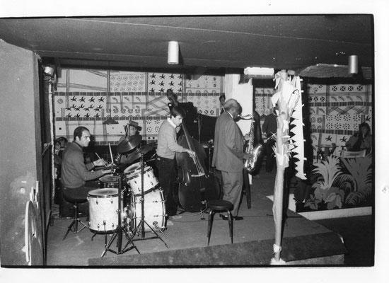 Sonny Stitt, Vincent Seno, Pierre Le Van, Christophe Le Van au Hot Brass à Aix en Provence