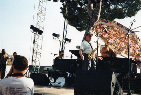 Phil Woods, Stan Laferrière, Christophe Le Van au Festivald'Antibes- Juan Les Pins