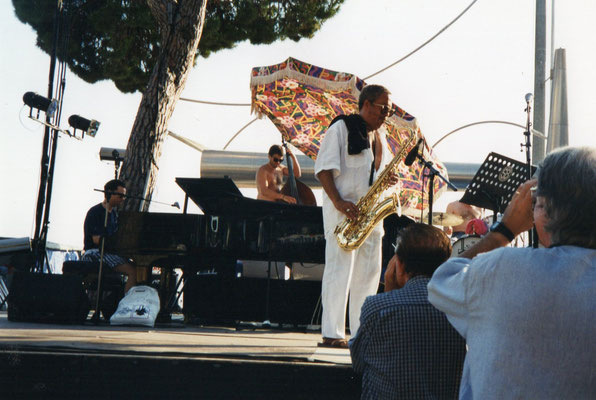 Johnny Griffin, Stan Laferriere, Christophe Le Van Festival jazz Antibes-Juan les Pins