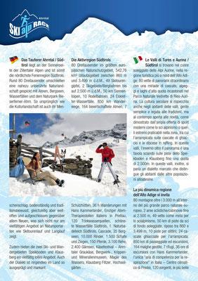 Skialprace Ahrntal 2013 - ISMF World Cup - Broschüre