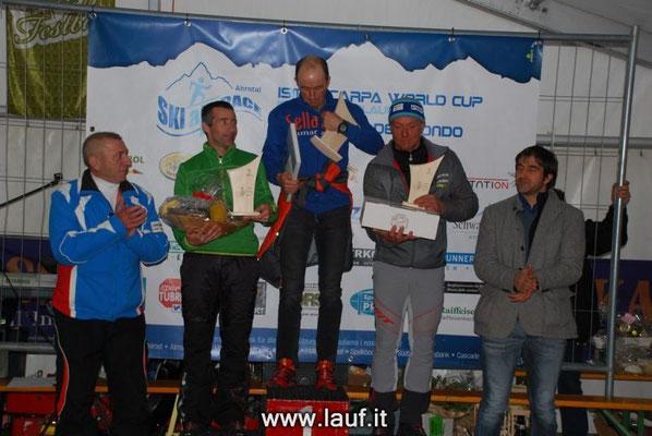 Skialprace Ahrntal 2013 - Siegerehrung FISI