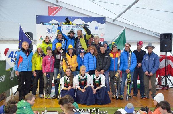 Skialprace Ahrntal 2014 - Siegerehrung