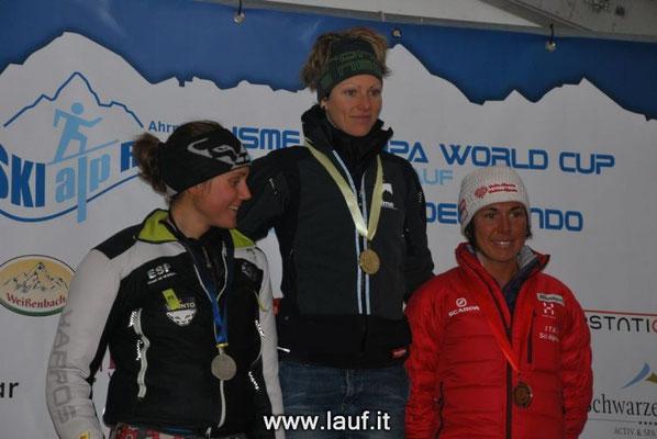 Skialprace Ahrntal 2013 - Siegerehrung ISMF-World Cup Individual Race