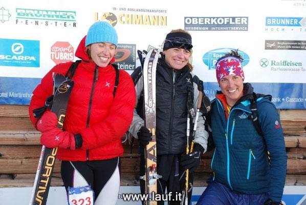Skialprace Ahrntal 2013 - Siegerehrung ISMF-World Cup Vertical Race