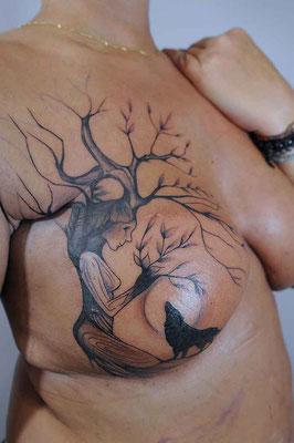 Blou tattoo & Ghislaine