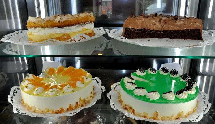 Torten aus der Konditorei süß & fein in Schmölau
