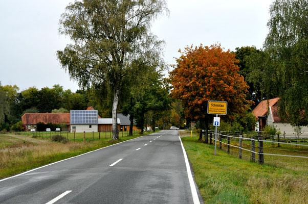 Zufahrt nach Schmölau