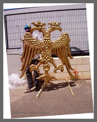 Aguila, Emblema