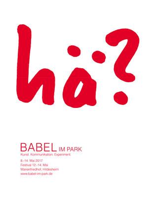 Babel im Park 2017 [Kulturfabrik Löseke]