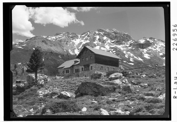Lizumerhütte 1963, Fotos Sammlung Risch-Lau, Vorarlberger Landesbibliothek
