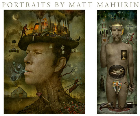 Matt Mahurin covers