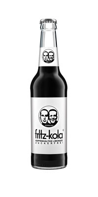 Fritz limo Cola an den Arbeitsplatz liefern