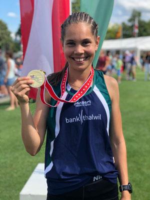 Lea Ammann: Gold über 400m Hürden