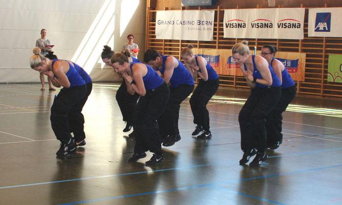 Team Aerobic Wettkampf