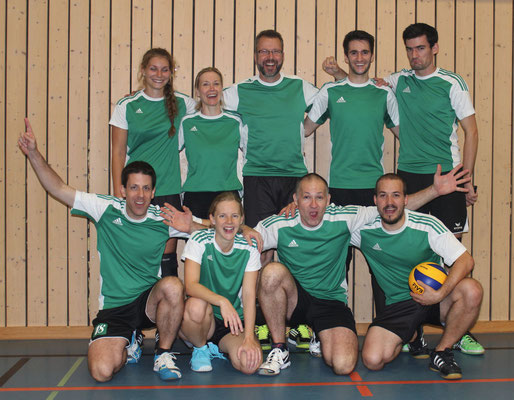 Mixed Mannschaft - Volleyballturnier Thalwil