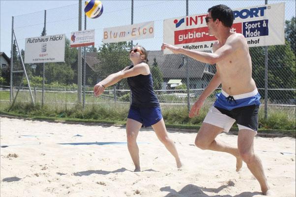 Beachvolleyball Turnier Obfelden