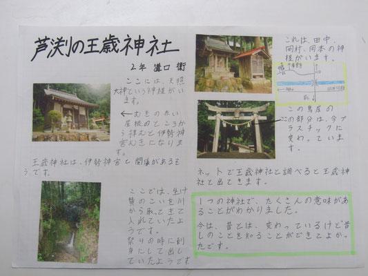 芦渕の王歳神社