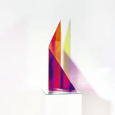 Bobst Heinrich, 270218, 2018, 22 x 24 x 60 cm, Acrylglas beschichtet / acrylic glass