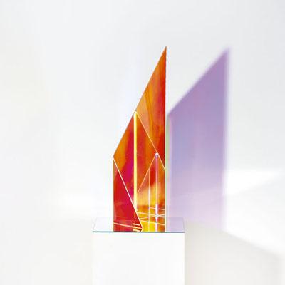 Bobst Heinrich, 280218, 2018, 10 x 15 x 60 cm, Acrylglas beschichtet / acrylic glass