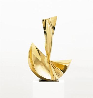 Wander Bertoni  Titel: Das Große U  Technik: Bronze, poliert  Größe: Höhe 84 cm  Edition: Auflage 7  Jahr: Entwurf 1955