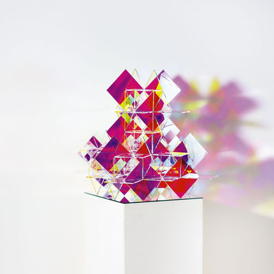 Bobst Heinrich, 281116, 2016, 42 x 42 x 42 cm, Acrylglas beschichtet / acrylic glass