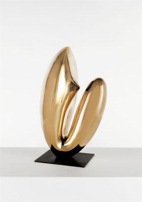 Wander Bertoni  Titel: Hermaphrodit V  Technik: Bronze, poliert  Größe: Höhe 52 cm  Edition: Auflage 7