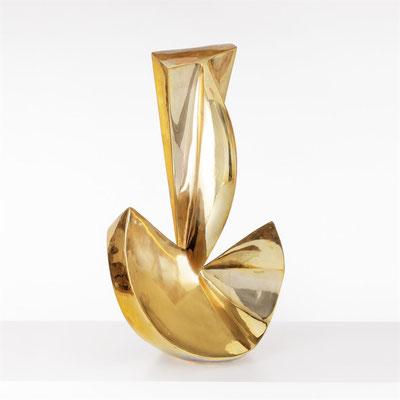 Wander Bertoni  Titel: Das Kleine U  Technik: Bronze, poliert  Größe: Höhe 68 cm  Edition: Auflage 12  Jahr: Entwurf 1955 / Guss 2018