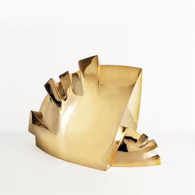 Wander Bertoni  Titel: Das Rhythmische B II,  Technik: Bronze, poliert  Größe: Höhe 30 cm  Edition: Auflage 7