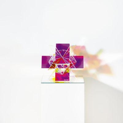 Bobst Heinrich, 1210616, 2016, 30 x 30 x 25 cm, Acrylglas beschichtet / acrylic glass