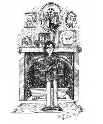 Harry chez les Dursley