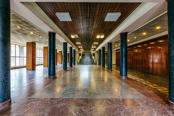 DDR Funkhaustour Eingangsbereich