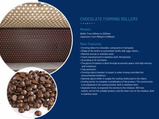 pépites et lentilles de chocolat