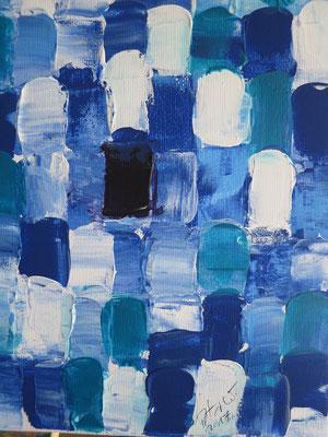 Blue  (verkauft)