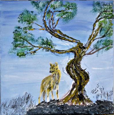 Der Einsame Wolf (verkauft)