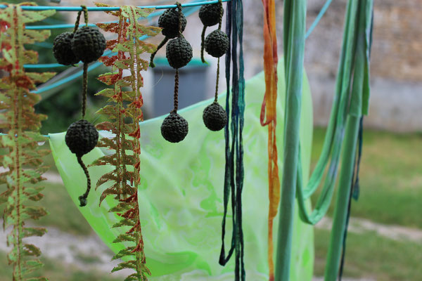 recherches textiles sur les algues