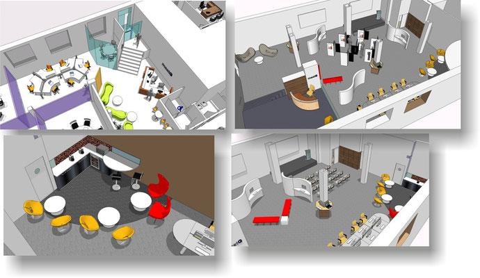 Centro de reuniones y presentaciones