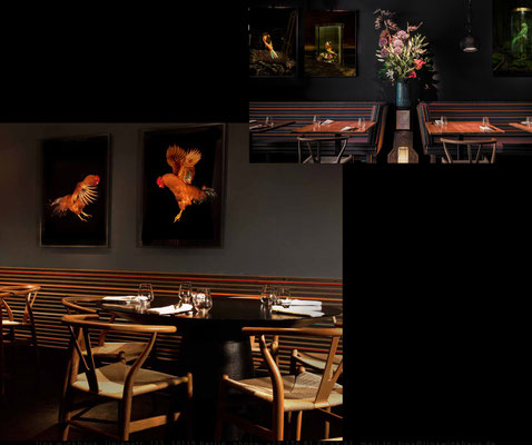 "Works by Tina Winkhaus (Photography), ""Dea Mon"", fine dining, Berlin"