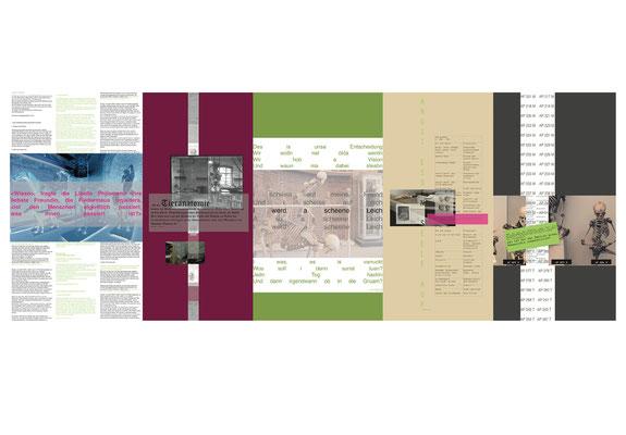 Anatomie Zerlegen- Collagen Entwurf