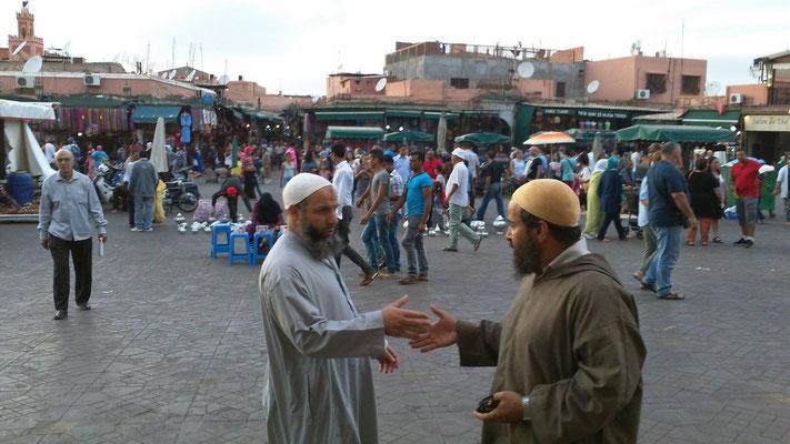 Treiben auf dem Djem el Fnaa