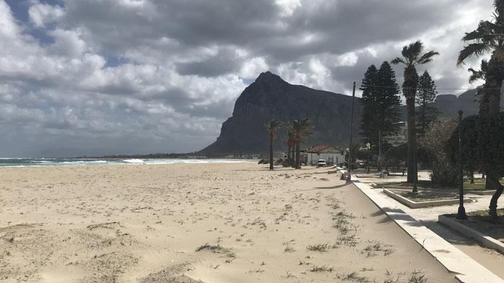 Der Strand von San Vito lo Capo