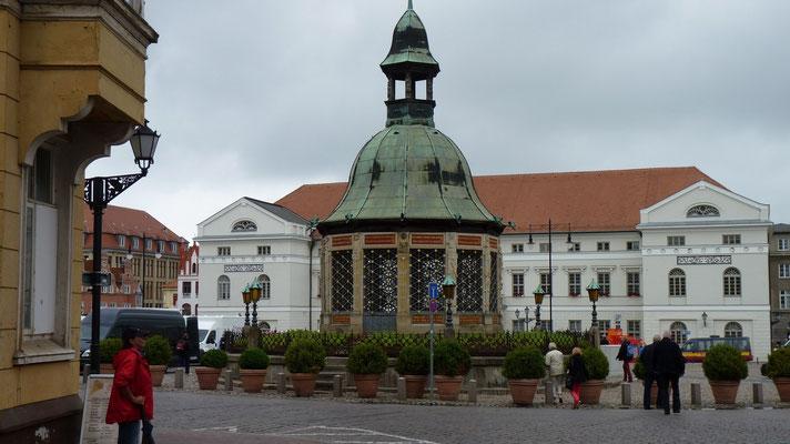 Der Hauptplatz von Wismar