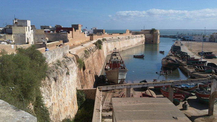 Die Festungsanlage von El Jadida