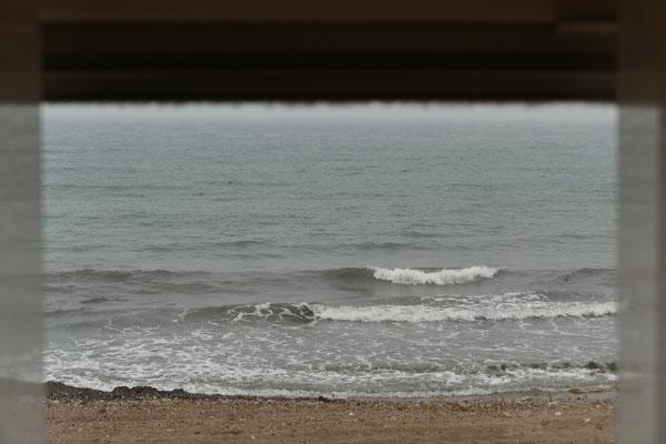 Blick aus dem Heckfenster