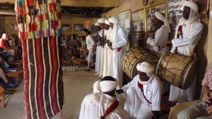 Musikergruppe des Gnaoui-Stammes