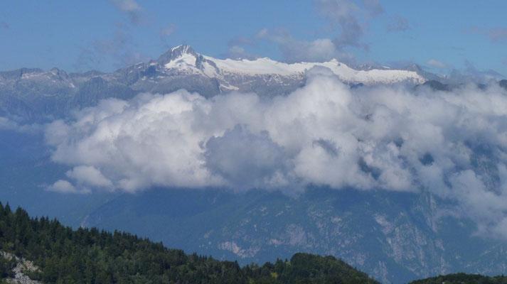 Gletsher vom Monte Baldo aus gesehen