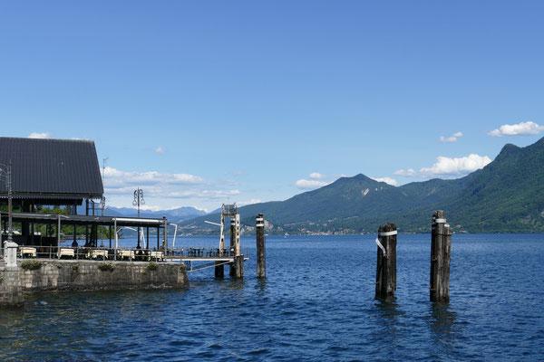Blick auf dem Lago Maggiore von Verbania