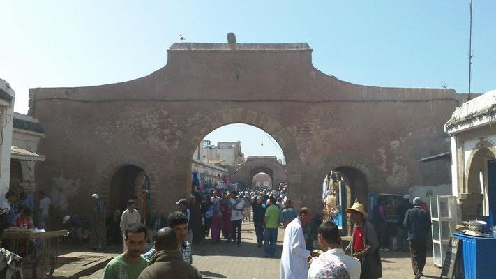 Geschäftiges Treiben in der Altstadt von Essaouira