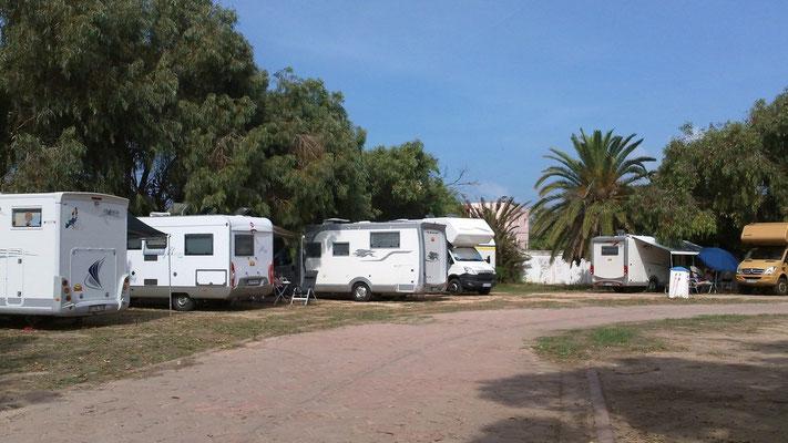 Unser Campingplatz in El Jadida